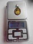 Медальон с Оригинальным фото,серебро 800 photo 6