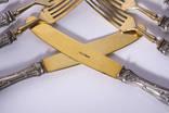 Шесть вилок и ножей Solingen vm800