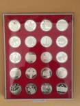 Коллекция серебряных монет Украины с 1996 г. по 2012 г.