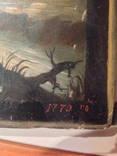 Икона Св.Пророк Илия, 1770 г. photo 2