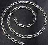 Новая серебряная цепочка цепь Серебро 925 пробы, фото №2