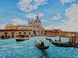 Венецианские гондолы. 60Х80см.