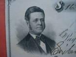 США чек 1875 год на 16,52$ photo 2