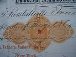 США чек 1875 год на 16,52$ photo 3