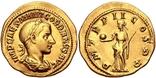 РИМСЬКА ІМПЕРІЯ, ГОРДІАН III, AD 238-244, Золотий Ауреус photo 3
