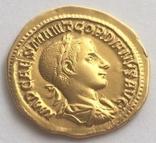 РИМСЬКА ІМПЕРІЯ, ГОРДІАН III, AD 238-244, Золотий Ауреус photo 4