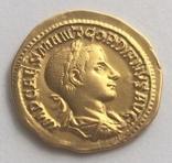 РИМСЬКА ІМПЕРІЯ, ГОРДІАН III, AD 238-244, Золотий Ауреус photo 5