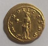 РИМСЬКА ІМПЕРІЯ, ГОРДІАН III, AD 238-244, Золотий Ауреус photo 7