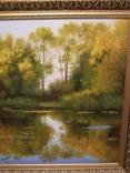 Подписной пейзаж, 70х95 см. photo 5