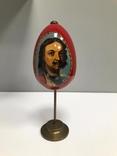 Яйцо писанное портрет: Петр Великий