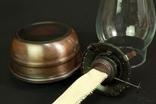 Керосиновая лампа. Винтаж. Европа. (0024) photo 7