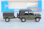 УАЗ-469 с прицепом.