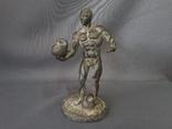 Статуэтка спортсмен атлет бронза 50-60 года