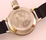 Часы наручные водолазные ВМФ СССР 24 часовые, рабочие photo 4