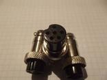 Штекер катушки металлоискателя на 6 pin