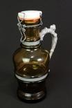 Бутыль для пива, сидра, вина. 1 л. Клеймо. Германия. (00542)