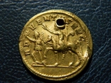 Золотой ауреус имп. Проба (276-282г) photo 2