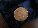 Золотая монета 20 долларов Сент Годенса 1910 года photo 6
