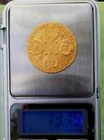 Золотые 10 рублей Екатерины ІІ 1775 г. Биткин-R, Петров-22руб, Ильин-20руб. photo 8