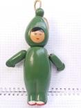 Кукла на резинках с клеймом (целулоид) из СССР