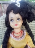 Кукла СССР колкий пластик, паричок