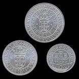 1000, 750 и 500 Эскудо 1983 Полный Набор, Португалия