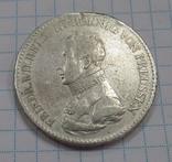 1 Талер Пруссия 1818 год А. Серебро с гривны