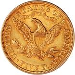 5 доларів США 1906 року, золото