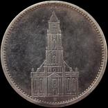 """5 марок 1935 року, Німеччина """"Кірха"""""""