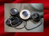 Телефон, телефонная трубка с диском, МПС, железная дорога.
