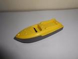 Катер,лодка Детская игрушка Пластмасса СССР, фото №2