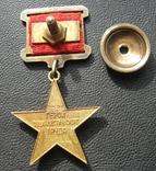 Золотая звезда Герой Соцтруда № 3621 photo 5