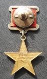 Золотая звезда Герой Соцтруда № 3621 photo 9