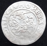 Півгрош 1529 р. м.д. Вільно (7) (дзеркальні N, V на аверсе, Іванаускас13 1S367-11(RRR)) photo 1