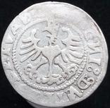 Півгрош 1529 р. м.д. Вільно (7) (дзеркальні N, V на аверсе, Іванаускас13 1S367-11(RRR)) photo 3