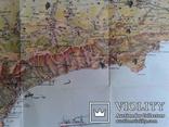 Крым..Туристская карта - схема..(1971 год, третье издание). photo 6