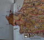 Крым..Туристская карта - схема..(1971 год, третье издание). photo 9