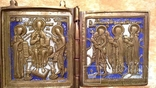 Складень Деисус. Избранные святые 19 века, фото №2