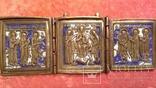 Складень Деисус. Избранные святые 19 века, фото №7