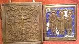 Складень Деисус. Избранные святые 19 века, фото №10