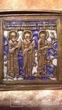 Складень Деисус. Избранные святые 19 века, фото №11