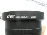 Адаптер KIWIFOTOS LMA-M42 АР201, фото №7