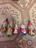 2 Деда мороза, 2 снегурочки и снеговик СССР