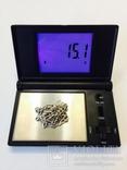 Цепочка унисекс Серебро 925 проба Украина.вес 15.1 грамм, фото №4