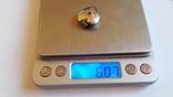 Кулон для фотографии серебро 875 проба, фото №4