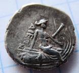 Древняя Греци, тетробол (340-330 гг. до н.э.),Эобия, г. Гистея,