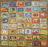 Импортные спичечные этикетки - 60 гг. photo 1