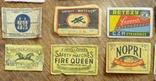 Импортные спичечные этикетки - 60 гг. photo 6
