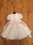 Нарядное платье для девочки, размер 104