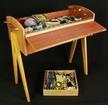 Винтажный ящик для шитья. Европа. (0142) photo 8